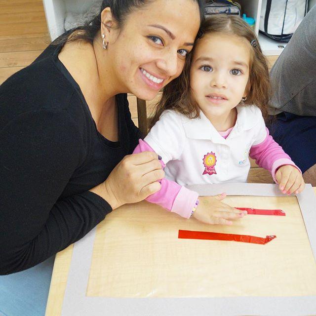 Family Day ~ Classroom_ C ~ Artist_ Cruz Diez ~ _ecokidspreschools ~ www.ecokidsbilingualpreschools.