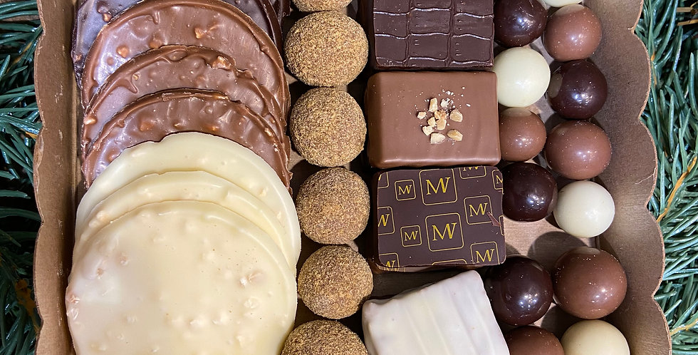 Boite mélange de chocolat 200g