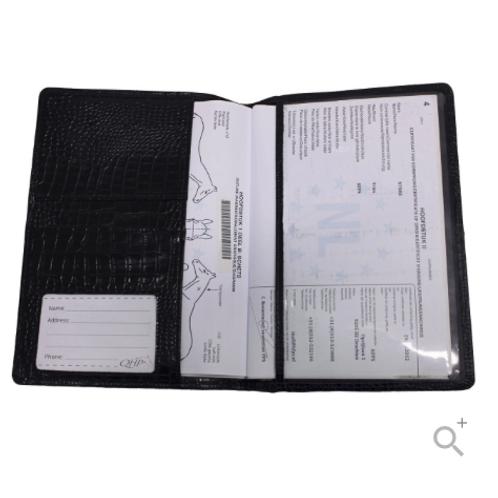 Protection de carnet passeport-CHEVAL