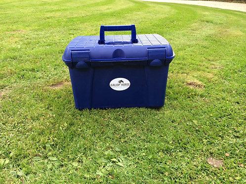 Caisse de pansage EQUIPEE - Bleue