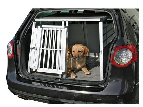 Box de transport en aluminium 2 portes