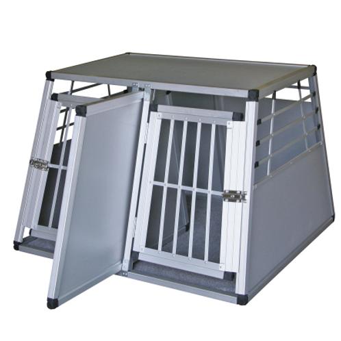 Cloison box transport Alu 2 portes