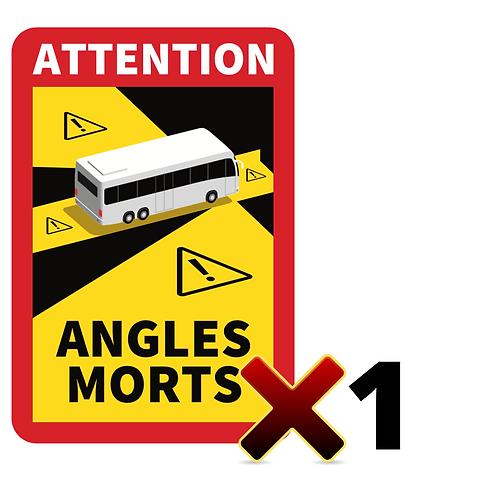 Autocollant angles morts CARS / BUS