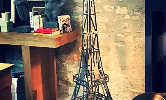 Lampe Tour Eiffel en Acier