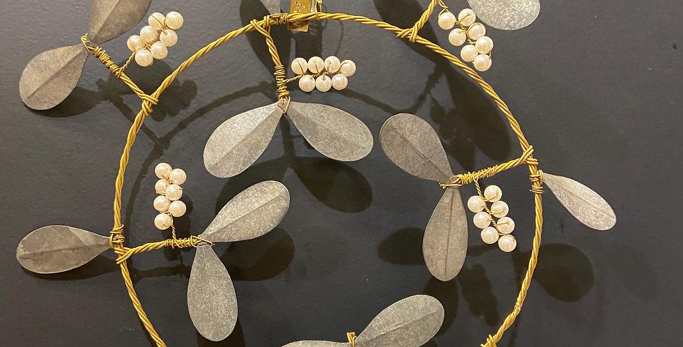 Couronne métal perle