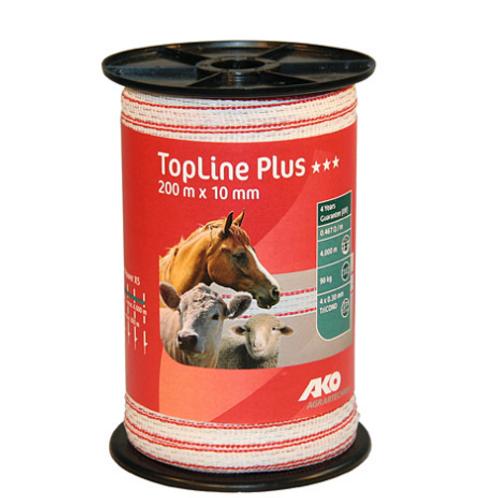 Ruban de clôture Topline PLus 10mm