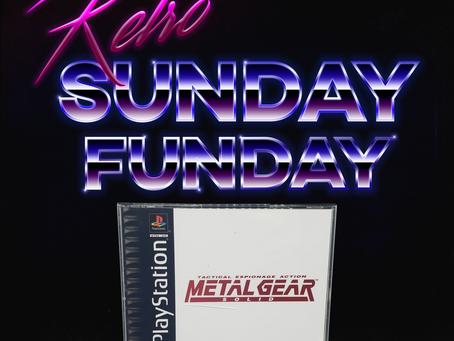 Retro Sunday Funday - Metal Gear Solid (1998)