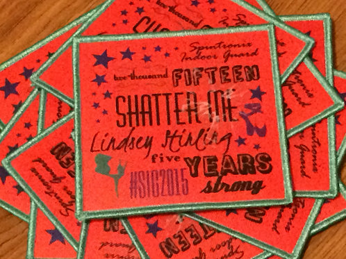 Shatter Me (5-Year Anniversary) Patch
