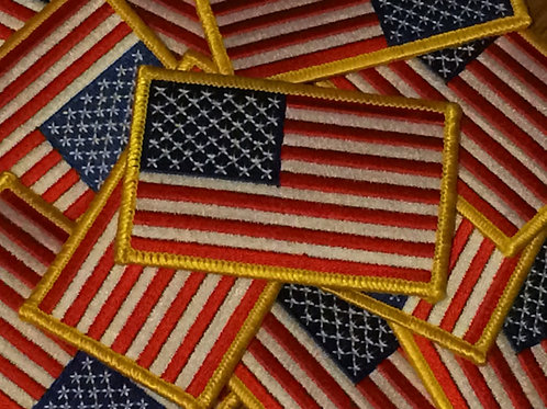 "4"" American Flag Patch"