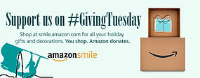 Amazon Smile Giving Tuesday Support Spintronix Donate Banner