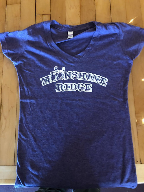 Moonshine Ridge Inc Women's V-Neck T-Shirts