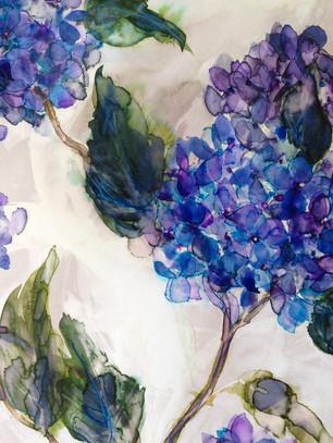 Blue Hydrangea Design