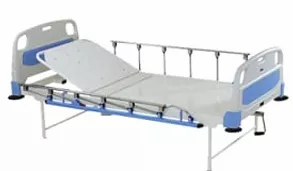 Semi fowler Hospital Bed with side railings