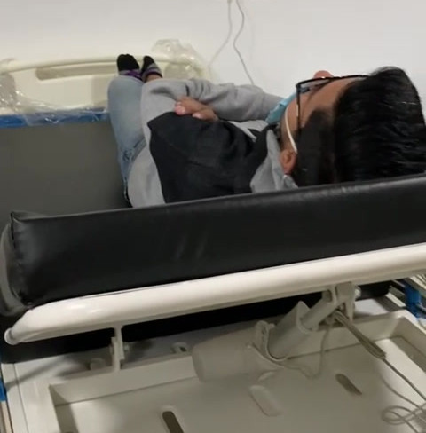 Motorised Recliner over the bed video