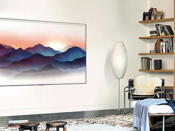 Samsung apuesta por un televisor camaleónico que decora tu casa