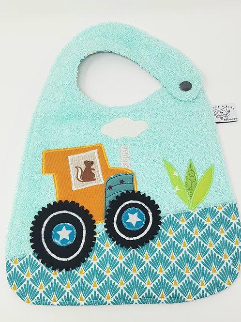 Bavoir Tracteur