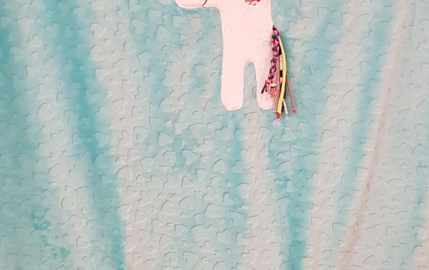 Couverture Coussin Licorne