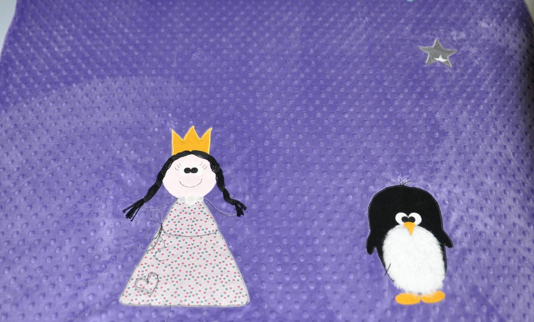 Couverture Princesse/Pinguin