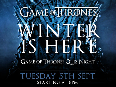 Game of Thrones...Winter is Here!
