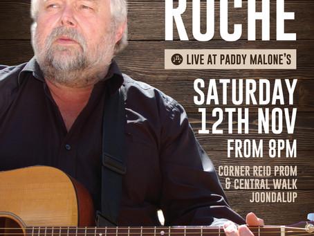 Sean Roche Live at Paddy Malones.