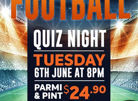 Football Quiz 6th June