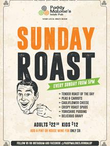 All Day Sunday Roasts