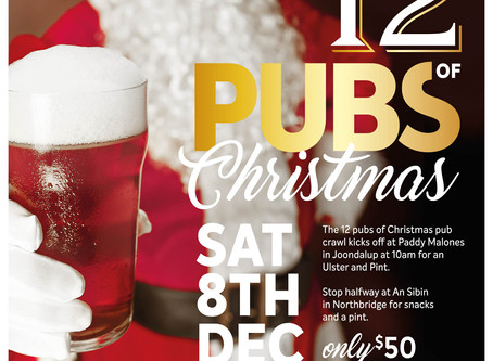 12 Pubs of Christmas