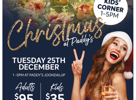 Christmas lunch at Paddy Malones
