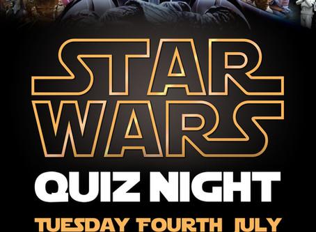 Star Wars Quiz Tuesday 4th July