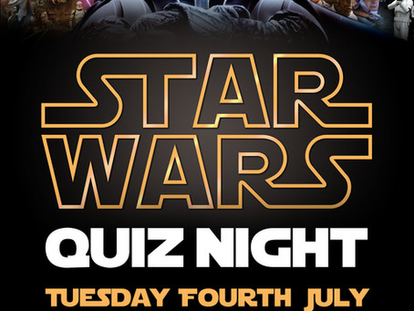 Star Wars Quiz Tuesday 4th July