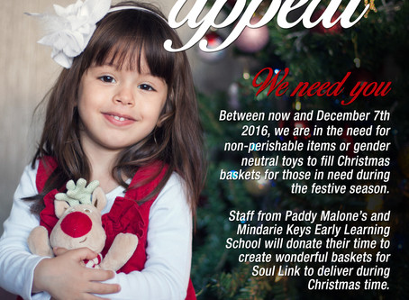 2016 Christmas Appeal