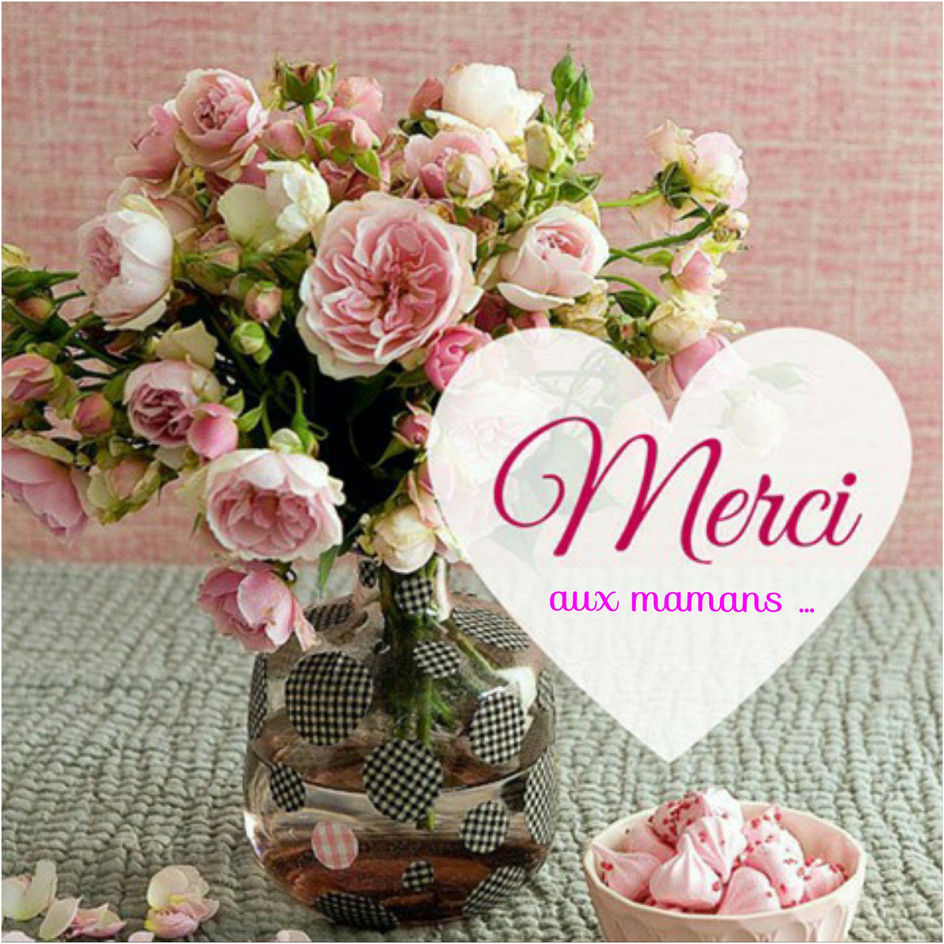 Bonne fête à toutes les mamans ! Dimanche 10.05.20