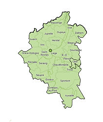 Infinisoins infirmières à domicile couvre Liège, Beaufays, Embourg, et ses environs