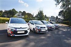 Les voitures de nos infirmières à domicile rajeunient