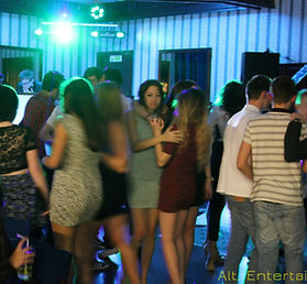 Crowd at 18th Birthday Party Townsend Social, Halesowen, West Midlands