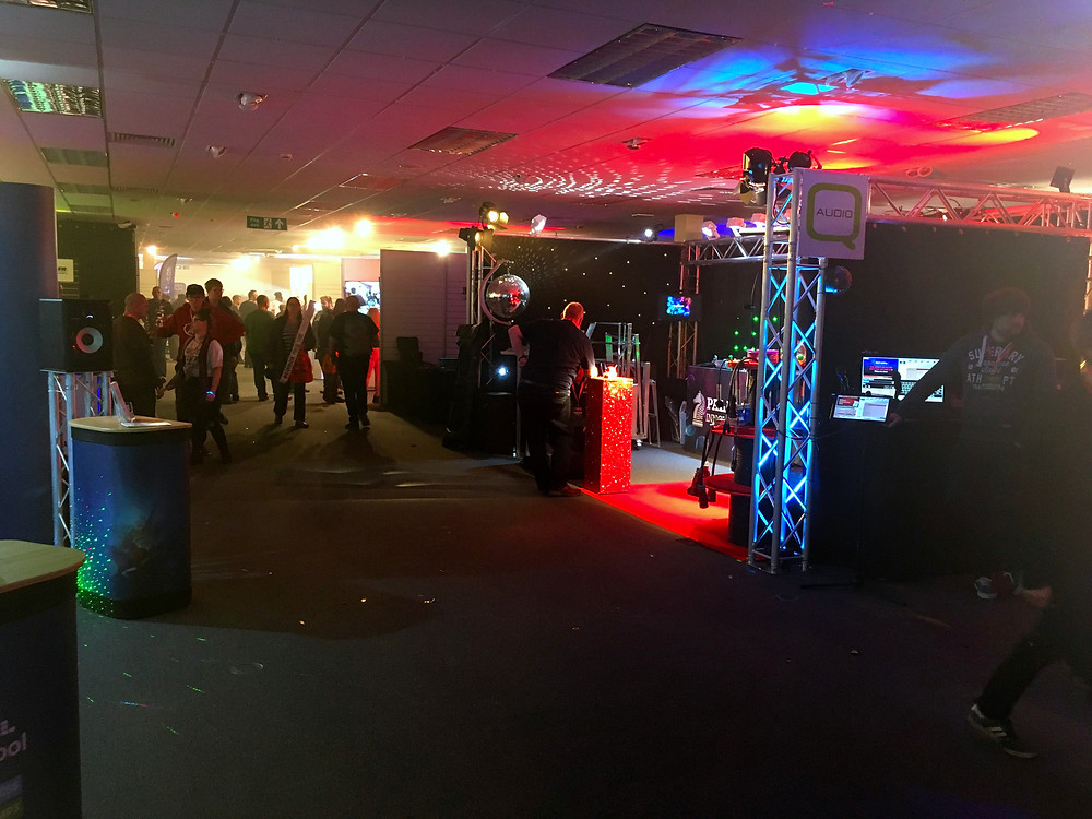 BPM Trade show floor at Cranmore Park Solihull