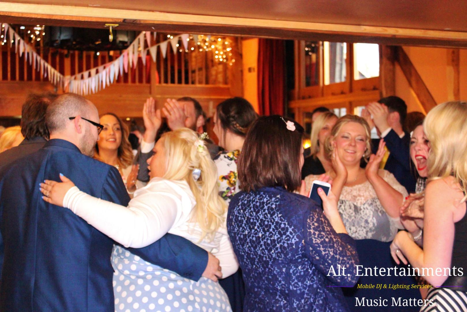 Packed Dancefloor at Wedding