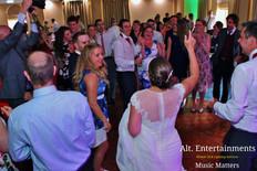 Crowd Going Wild at Wedding