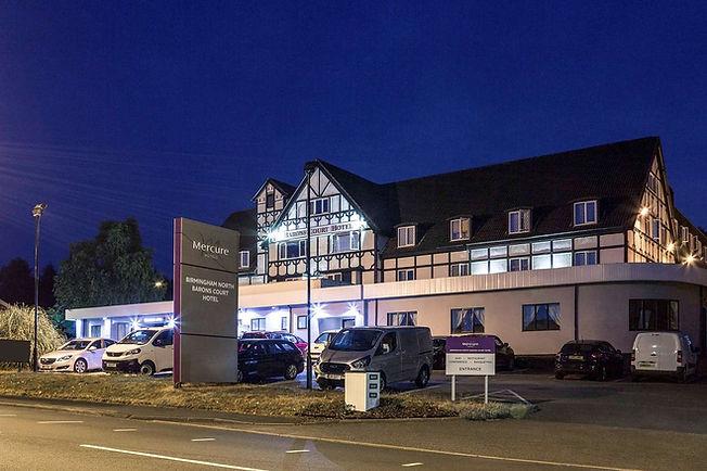 Barons Court Hotel, Walsall Wood, Walsall.