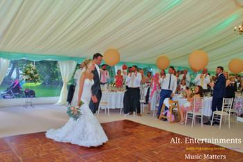 Bride & Groom grand Entrance