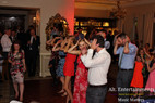 Group dance at the wedding
