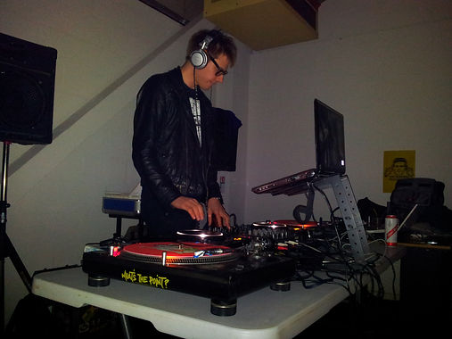 Ian Bennett DJing at the Revolved Reunion Night at Fixxion Warehouse Project Wolverhampton, Indie DJ Wolverhampton