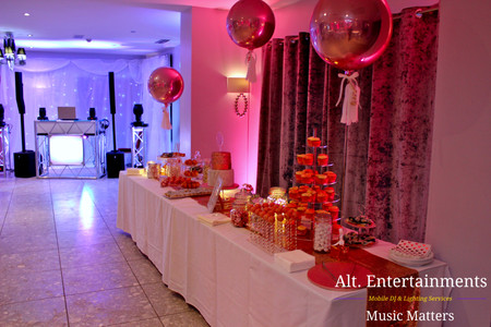 The all important sweet section perfect for any wedding.