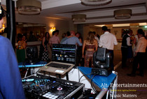Wedding Disco playing from state of the art Pioneer DJ equipment.