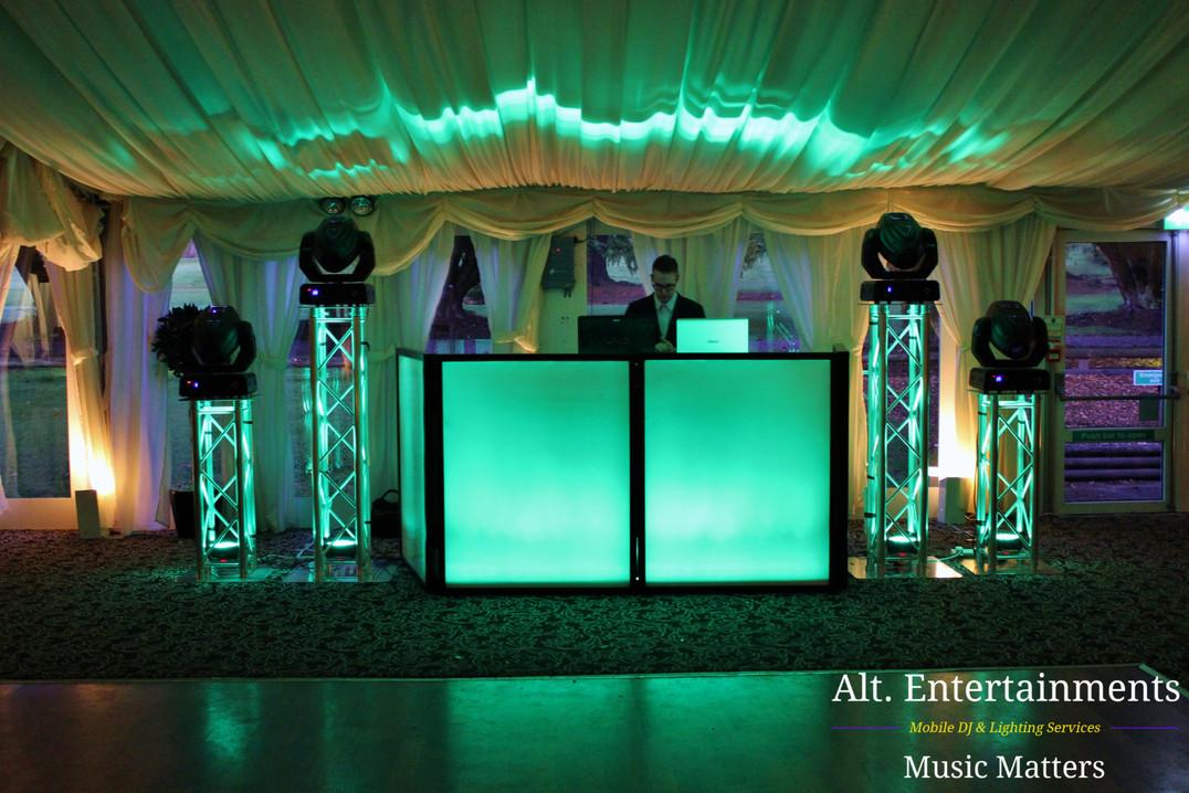Wedding DJ Set-up