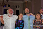 You'll never walk alone: family singing their harts out.