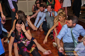 when a wedding DJ Plays The Gap Band Oops Upside your head