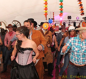Crowd Dancing at a Party in Nuneaton Warwickshire
