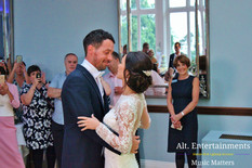 Bride and Groom engage in their First Dance