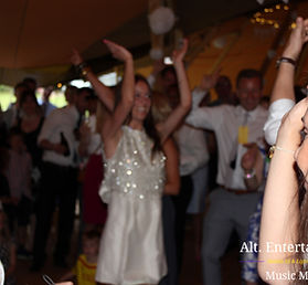 Dancers at Wedding located in Market Overton, Rutland